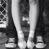 sneaks and pointe