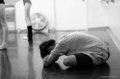 tired dancer
